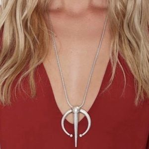 Luv Aj Silver Statement Piece Pendant